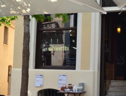 Sistema del restaurante Olivetti