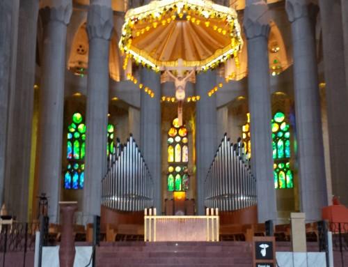 Mantenimiento en la Sagrada Família