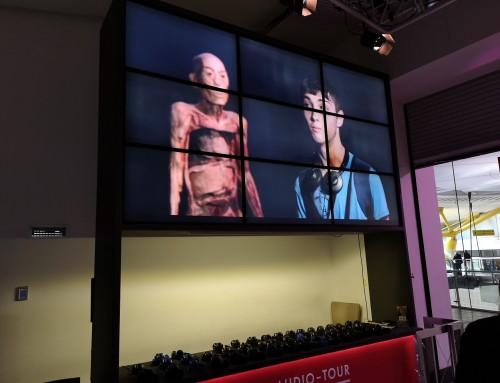VIDEOWALL EXPOSICIÓN HUMAN BODIES